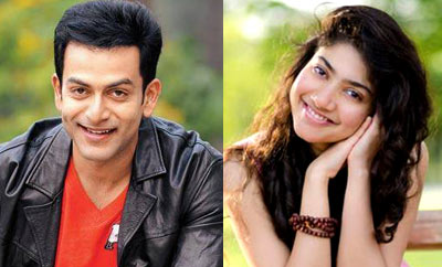 Prithviraj and Sai Pallavi to pair up