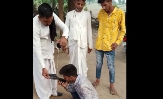 Youth forced to drink urine as punishment for love