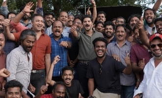 Rosshan Andrews shares BTS pics of Dulquer Salmaan's Salute