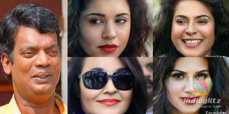 PICS: Salim Kumar transforms M-Town stars as women using FaceApp