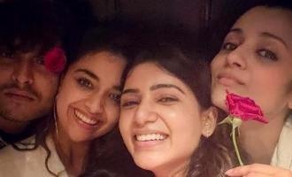 Viral Pics: Samantha parties with Trisha, Keerthy and Kalyani