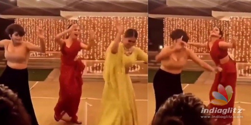 Video of Priya Varrier, Saniya Iyappan and Anarkali dancing together go viral