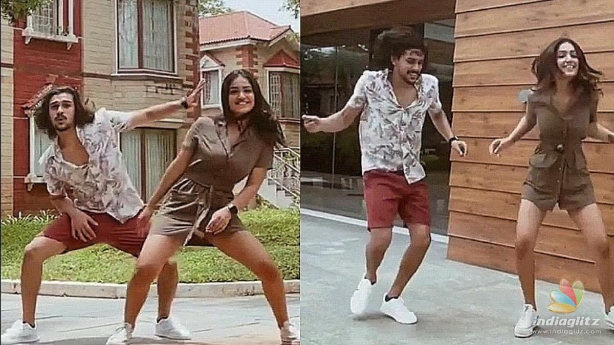 Watch: Saniya Iyappans latest dance with Bigg Boss sensation go viral!