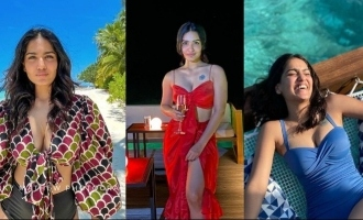 VIRAL: Saniya Iyappan's holiday pictures from the Maldives are too HOT to miss!