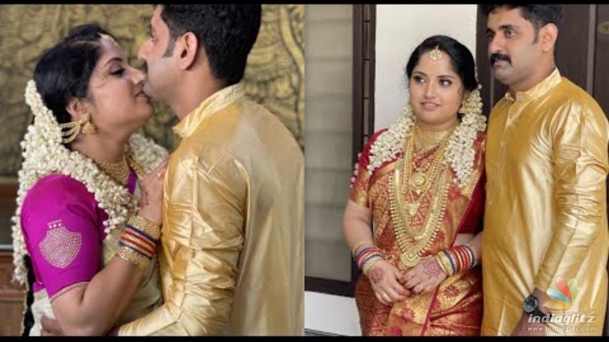 Popular serial actress Amritha enters wedlock - Malayalam News -  IndiaGlitz.com
