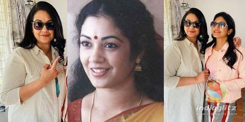 Shanthi Krishnas stylish new makeover, viral pics