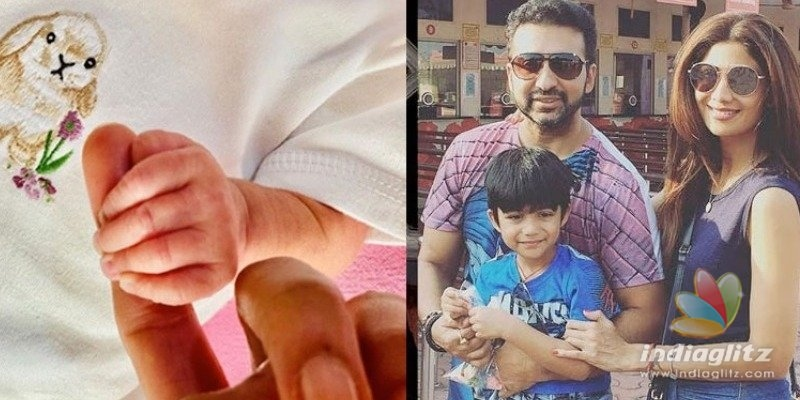 Shilpa Shetty welcomes her second baby!