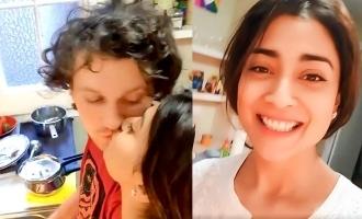 VIDEO: Pokkiri Raja actress kissing her husband goes viral
