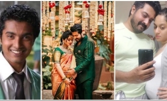 PHOTOS: Notebook fame Skanda Ashok to become dad soon!