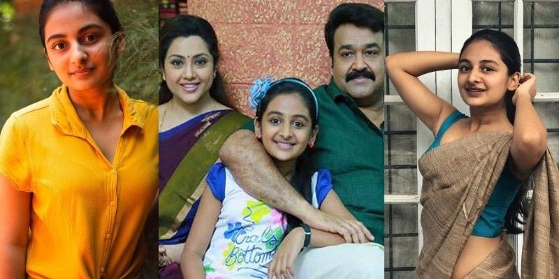 VIRAL SAREE PICS: Drishyam fame Esther Anil is not a child anymore! - Malayalam News - IndiaGlitz.com