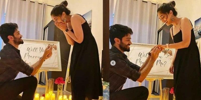 Bigil girl Reba Monica to enter wedlock, proposal pics go Viral - Malayalam News - IndiaGlitz.com