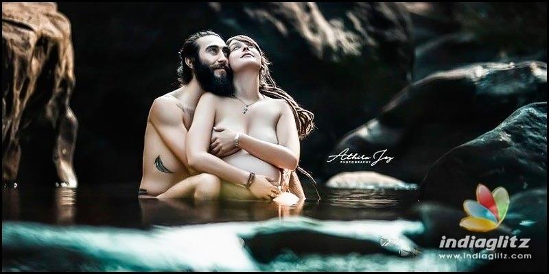 Kerala's first nude maternity photo shoot; photos viral - Malayalam News - IndiaGlitz.com