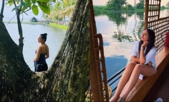 In pics, Sonakshi Sinha holidays in Kerala's backwaters