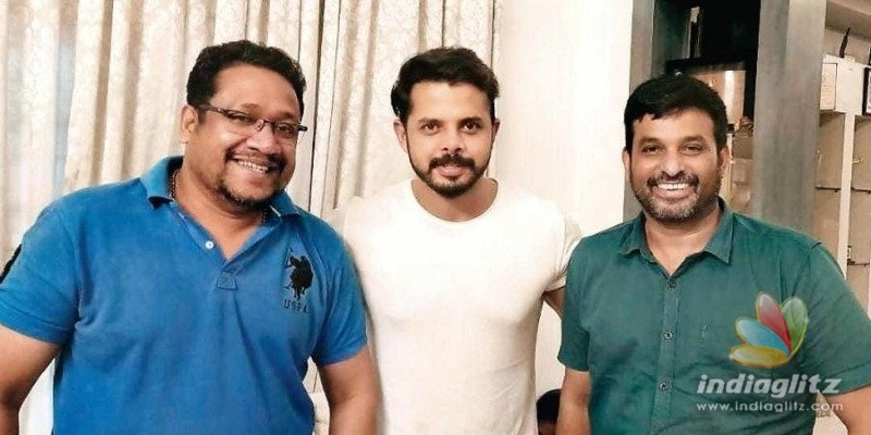 Cricketer Sreesanth signs a movie!