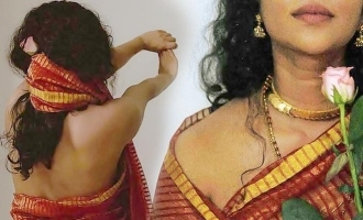 Actress Srinda's saree look without blouse goes VIRAL