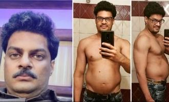 Actor Sudev Nair shares his massive transformation for Thuramukham