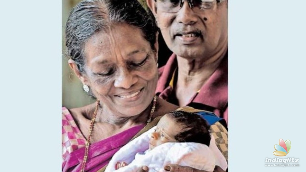 Baby born to 71-yr-old woman dies