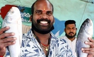 Popular Malayalam actor turns fish vendor
