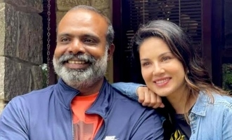 Viral: Actor Chemban Vinod strikes a pose with Sunny Leone