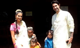 In pics: Sunny Leone and family look beautiful in Kerala's traditional wear