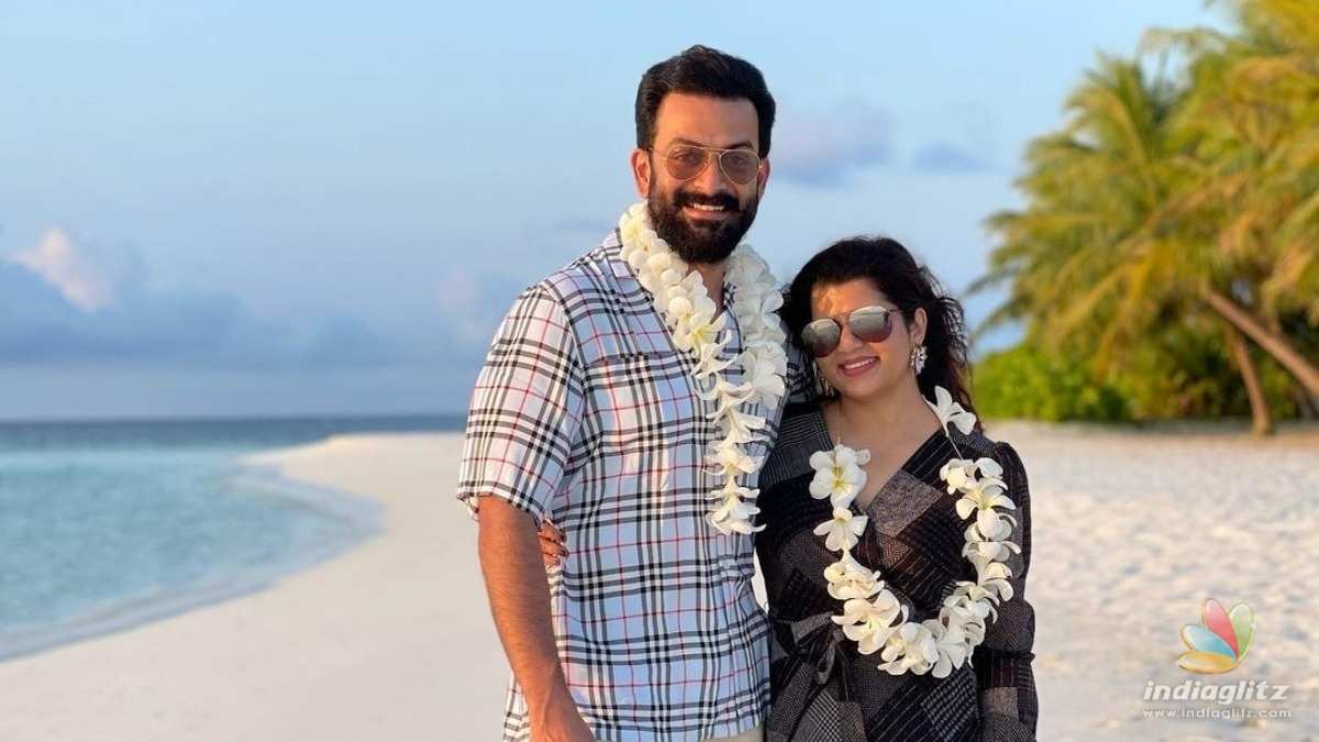 Prithvirajs birthday wishes for wifey Supriya Menon is too cute to miss!