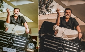 Actor Suresh Gopi's MASS new look is trending!