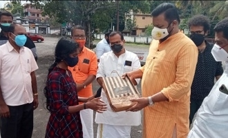 Suresh Gopi lends a helping hand to a homeless bride