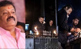 Picture of Suresh Gopi lighting candle at a church go viral!