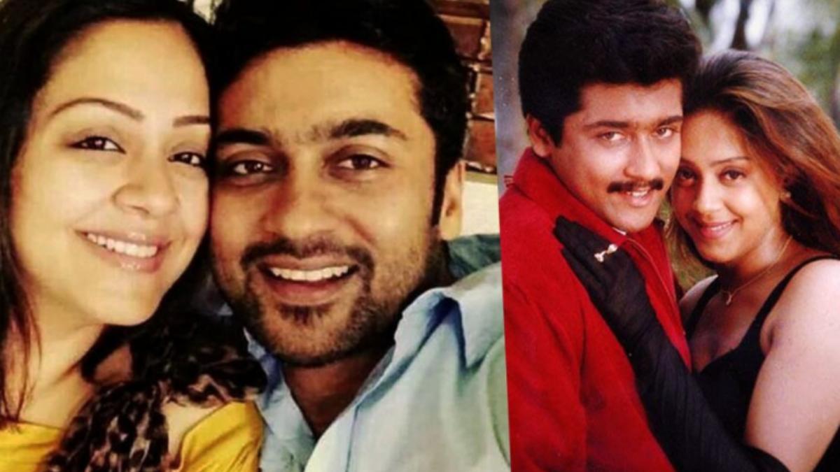 Jyothika shares a selfie with husband Suriya on anniversary