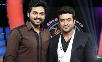 Karthi is waiting to act with his elder brother Surya