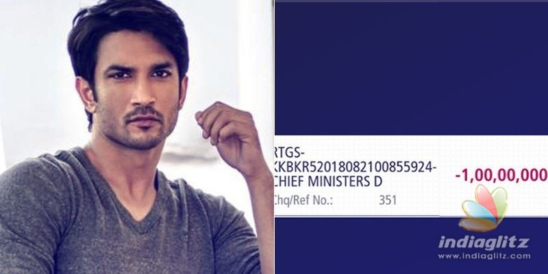 Kerala CMs note for Sushant Singh Rajput will melt your heart