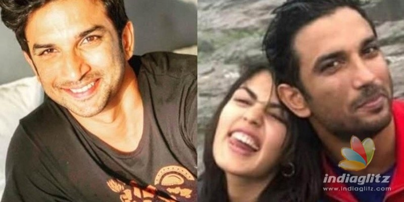 Sushant Singh Rajputs girlfriend Rhea pens a heartmelting note