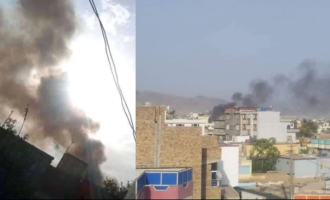 BREAKING: Fresh explosion near Kabul airport