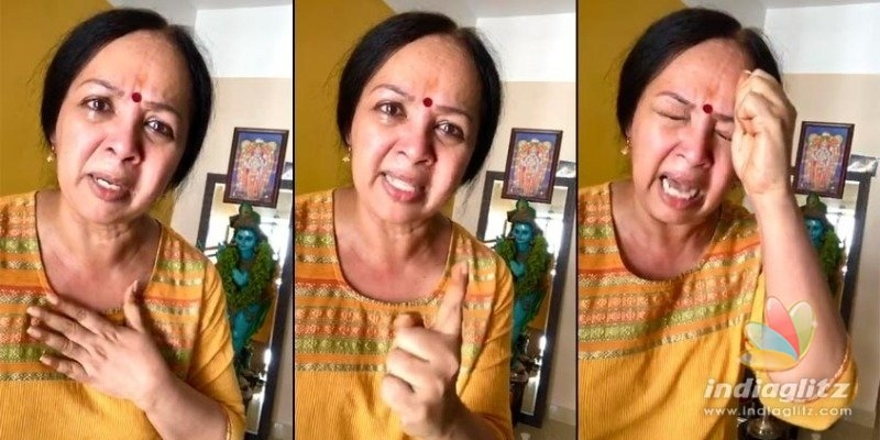 Dont you have a mother at home?, Thara Kalyans emotional video