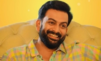 Prithviraj announces his next!