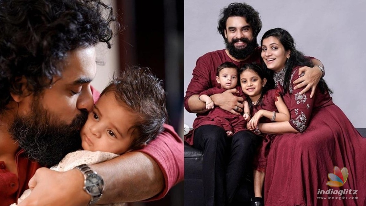 Tovino Thomas shares adorable photos on his son Tahaan's first birthday!