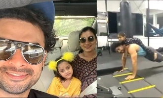 Quarantine: Tovino Thomas' push up video with daughter goes VIRAL