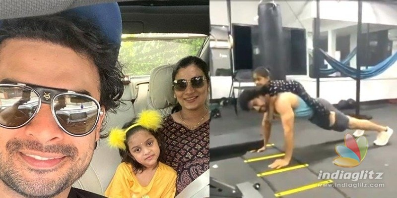 Quarantine: Tovino Thomas push up video with daughter goes VIRAL