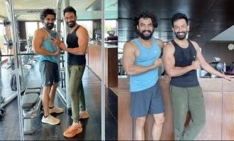 Prithviraj and Tovino Thomas hit the gym together, pics go viral