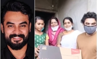 Tovino Thomas surprises an 8th standard girl; Kind gesture!