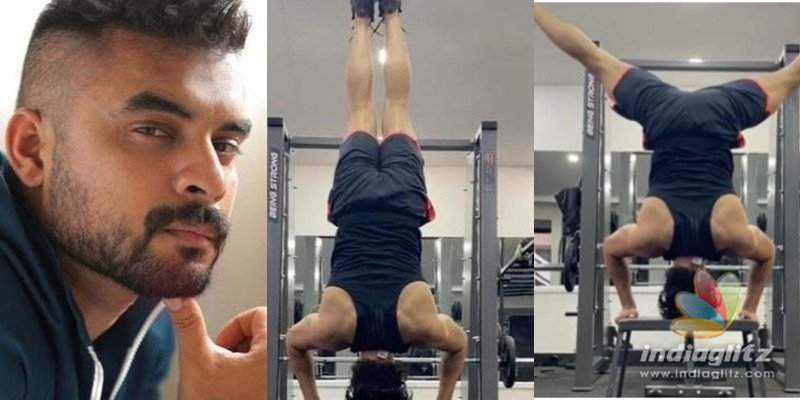 VIDEO of Tovino Thomas doing headstand goes VIRAL