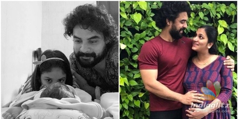 Tovino Thomas shares first pics of his baby boy Tahaan