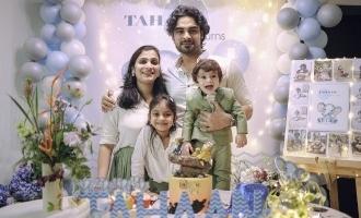 Tovino Thomas' son Tahaan turns one; birthday celebration pics go viral!