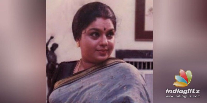 Veteran Malayalam actress Usharani passed away
