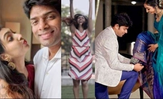 WATCH - Utthara Unni's engagement teaser is too cute to miss!