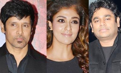Vikram, Nayanthara, ARR & others win State Awards