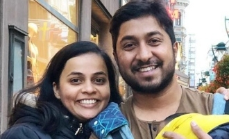 Vineeth Sreenivasan pens a sweet note for his wife