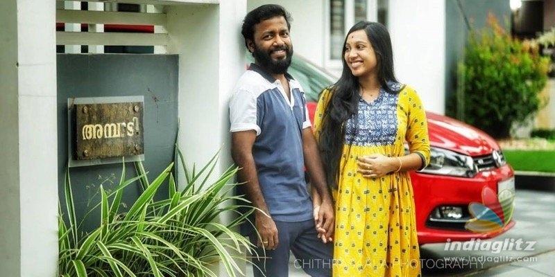Actor Vishnu Unnikrishnan blessed with a baby