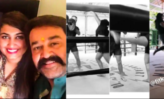 Vismaya Mohanlal's latest martial art video is VIRAL