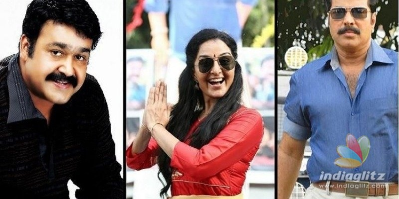 Mohanlal and Mammootty join hands for Manju Warrier